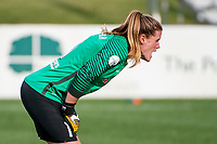 Kansas City, MO - Saturday September 9, 2017: Alyssa Naeher during a regular season National Women's Soccer League (NWSL) match between FC Kansas City and the Chicago Red Stars at Children's Mercy Victory Field.