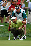 Robert Allenby (AUS) on the 10th green on the first day of the World Golf Championship Bridgestone Invitational, from Firestone Country Club, Akron, Ohio. 4/8/11.Picture Fran Caffrey www.golffile.ie