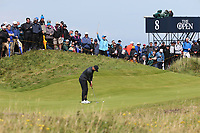 Brooks Koepka (USA) during Round One of the 148th Open Championship, Royal Portrush Golf Club, Portrush, Antrim, Northern Ireland. 18/07/2019. Picture David Lloyd / Golffile.ie<br /> <br /> All photo usage must carry mandatory copyright credit (© Golffile | David Lloyd)