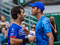 Paris, France, 3 June, 2017, Tennis, French Open, Roland Garros, Jean-Julien Rojer (NED) /Horia Tecau (ROU) (R)<br /> Photo: Henk Koster/tennisimages.com