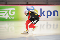 SCHAATSEN: HAMAR: Vikingskipet, 15-02-2013, Essent ISU WK allround, Season 2012-2013, Training, Bart Swings (BEL), ©foto Martin de Jong