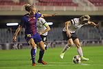 UEFA Women's Champions League 2017/2018.<br /> Round of 16.<br /> FC Barcelona vs Gintra Universitetas: 3-0.<br /> Toni Duggan vs Lyubov Gudchenko.