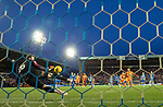 09.02.2019: Kilmarnock v Rangers : Daniel Bachmann saves James Tavernier's penalty kick