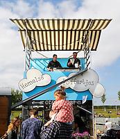 Amsterdam Westerpark. Foodfestival De Rollende keukens. Hemelse Poffertjes