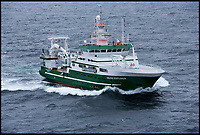 BNPS.co.uk (01202 558833)<br /> Pic:  DavidBranigan/BNPS<br /> <br /> The research vessel, the OSS Celtic Explorer.<br /> <br /> A deadly hammerhead shark has been sighted in UK waters for the first ever time, scientists today revealed.<br /> <br /> The predator, that has a distinctive hammer-shaped flattened head, was spotted in the Celtic Sea, between the south coast of Ireland and the south west of England.<br /> <br /> Its appearance on the surface of the sea was fleeting but enough for two marine scientists to positively identify it.<br /> <br /> The sighting comes a week after a marine expert predicted that some shark species such as the Great White and hammerhead could become regular visitors to British waters by 2050 due to rising sea temperatures.