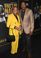 "08 May 2019 - Los Angeles, California - Tonya Winfield, Dave Winfield. ""What's My Name: Muhammad Ali"" HBO Premiere held at Regal Cinemas LA LIVE 14. Photo Credit: Billy Bennight/AdMedia"