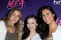 """LOS ANGELES - OCT 2:  Elizabeth Whitson, Francesca Eastwood, Cesalina Gracie at the """"M.F.A."""" Premiere at the The London West Hollywood on October 2, 2017 in West Hollywood, CA"""