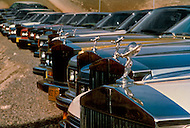 Wasco, Oregon, January 1984: Bhawan Rajneesh (now known as Osho) possessed more than 20 Rolls-Royce cars and never used the same car two days in a row. Rajneeshpuram, was an intentional community in Wasco County, Oregon, briefly incorporated as a city in the 1980s, which was populated with followers of the spiritual teacher Osho, then known as Bhagwan Shree Rajneesh. The community was developed by turning a ranch from an empty rural property into a city complete with typical urban infrastructure, with population of about 7000 followers.