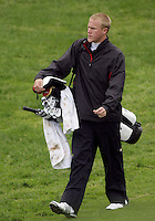 20 May, 2010:  Loyola Universities Jason Burton walks to the green on hole nine of the NCAA Division I Regionals tournament Thursday at Gold Mountain Golf Course in Bremerton, WA.