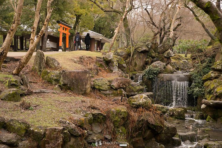 Karakuni Shrine next to Todaiji Temple in Nara.