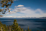 Lake Tahoe with Nevada in the background.