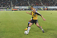 VOETBAL: SC HEERENVEEN: Abe Lenstra Stadion, 17-02-2012, SC-Heerenveen-NAC, Eredivisie, Eindstand 1-0, Luciano Narsingh, Anthony Lurling, ©foto: Martin de Jong