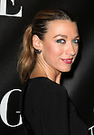 Natalie Zea attending the Opening Night Performance of 'Grace' at the Cort Theatre in New York City on 10/4/2012.