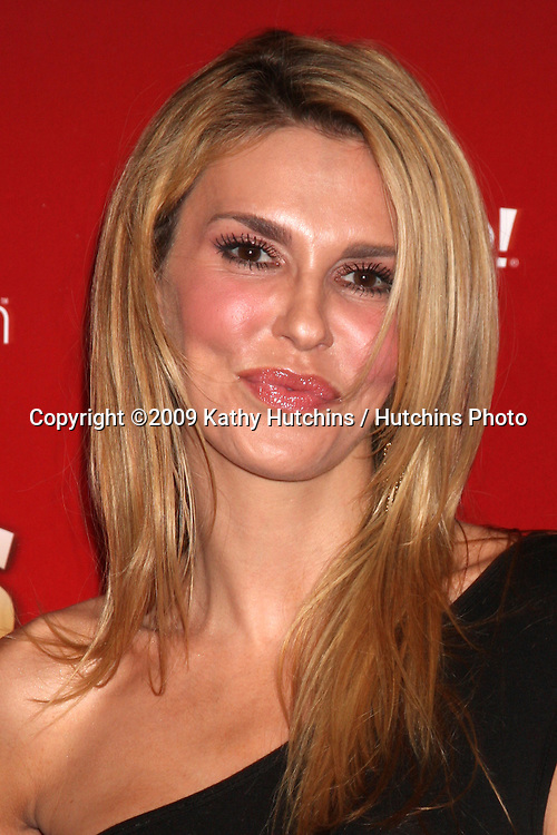 Brandi Glanville.arriving at the 2009 US Weekly Hot Hollywood Party.Voyeur.West Hiollywood,  CA.November 18, 2009.©2009 Kathy Hutchins / Hutchins Photo.