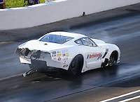 Sep 2, 2016; Clermont, IN, USA; NHRA pro mod driver Sidnei Frigo during qualifying for the US Nationals at Lucas Oil Raceway. Mandatory Credit: Mark J. Rebilas-USA TODAY Sports