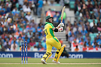 David Warner (Australia) helps a short delivery over fine leg for four during India vs Australia, ICC World Cup Cricket at The Oval on 9th June 2019