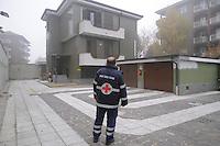 - Buccinasco (Milano) la sede della Croce Rossa, la villa era propriet&agrave; di Antonio Papalia del clan di ndrangheta &quot;ndrina di Plat&igrave;&quot; ed &eacute; stata sequestrata a norma della legge Rognoni-Latorre 109/96 per la confisca dei beni alla criminalit&agrave; organizzata<br /> <br /> - Buccinasco (Milan), the headquarters of the Red Cross, the villa was owned by Anthony Papalia of Ndrangheta clan &quot;ndrina di Plat&igrave;&quot; and has been seized under the Law 109/96 Rognoni-Latorre for the confiscation of properties to organized crime