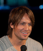 Grammy Award nominee Keith Urban at Rod Laver Arena, Melbourne, 12 December 2009