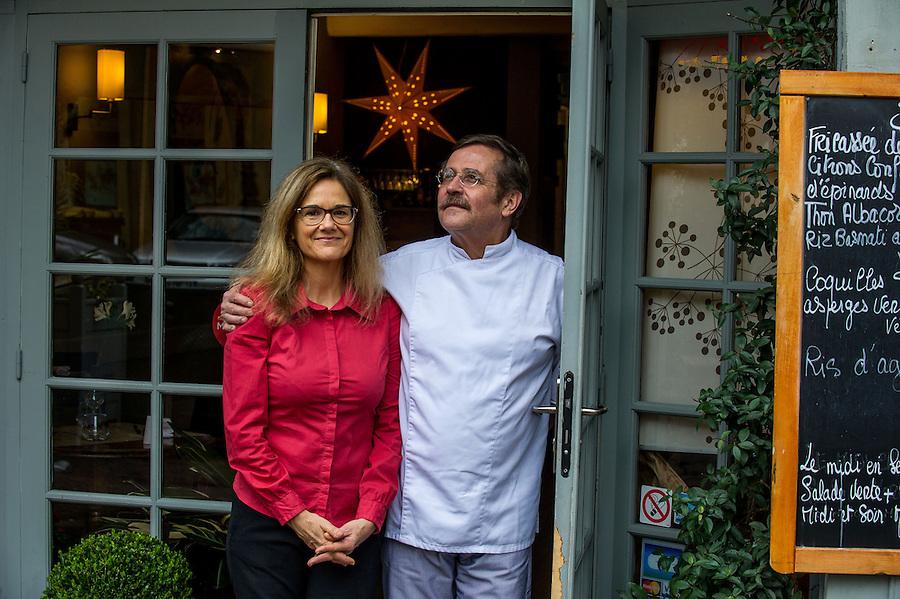 """Olivier et Sylvie Rathery - Restaurant """"Le Goût des Choses"""" -  Marseille 2013"""