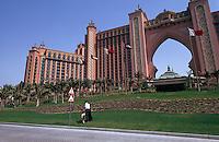 Vereinigte arabische Emirate (VAE, UAE), Dubai, Hotel Atlantis auf der Palm Jumeirah