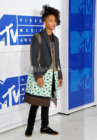 NEW YORK, NY - AUGUST 28:Jaden Smith attend the 2016 MTV Video Music Awards at Madison Square Garden on August 28, 2016 in New York City Credit John Palmer / MediaPunch