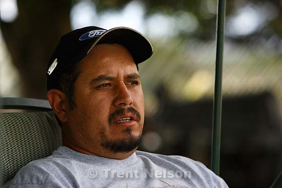 Price - Cesar Sanchez talks about his brother, Manuel Sanchez, one of the six miners trapped in the Crandall Canyon Mine..; 8.23.2007
