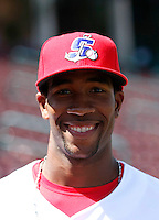 Yusuf Carter  ---  At the annual California League-Carolina League all-star game at the Diamond in Lake Elsinore, CA - 06/23/2009. The game was won by the California League, 2-1, on a walk-off homerun by Lancaster's Jon Gaston..Photo by:  Bill Mitchell/Four Seam Images