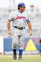 July 10, 2009:  Manager Buddy Bailey of the Daytona Cubs during a game at George M. Steinbrenner Field in Tampa, FL.  Daytona is the Florida State League High-A affiliate of the Chicago Cubs.  Photo By Mike Janes/Four Seam Images