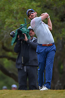 Andrew Landry (USA) watches his tee shot on 2 during Round 3 of the Valero Texas Open, AT&amp;T Oaks Course, TPC San Antonio, San Antonio, Texas, USA. 4/21/2018.<br /> Picture: Golffile   Ken Murray<br /> <br /> <br /> All photo usage must carry mandatory copyright credit (&copy; Golffile   Ken Murray)
