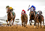 AUG 11: Danuska's My Girl with Geovanni Franco defeats Anonymity and Flavien Prat to win the Rancho Bernardo Stakes at The Del Mar Thoroughbred Club in Del Mar, California on August 11, 2019. Evers/Eclipse Sportswire/CSM