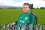 Patrick Flanagan Milltown who has been selected for the Irish team for the FIPFA World Cup finals in France this November..
