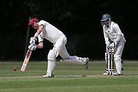 J Buttleman of Brentwood during Brentwood CC vs Ilford CC, Shepherd Neame Essex League Cricket at The Old County Ground on 8th June 2019