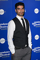 Akin Gazi at the &quot;Yardie&quot; premiere as part of the Sundance London Festival 2018, Picturehouse Central, London, UK. <br /> 01 June  2018<br /> Picture: Steve Vas/Featureflash/SilverHub 0208 004 5359 sales@silverhubmedia.com