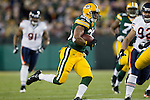 Green Bay Packers running back Ryan Grant (25) carries the ball during a week 16 NFL football game against the Chicago Bears on December 25, 2011 in Green Bay, Wisconsin. The Packers won 35-21. (AP Photo/David Stluka)