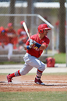 St. Louis Cardinals Yariel Gonzalez (26) during a Minor League Spring Training game against the Miami Marlins on March 26, 2018 at the Roger Dean Stadium Complex in Jupiter, Florida.  (Mike Janes/Four Seam Images)