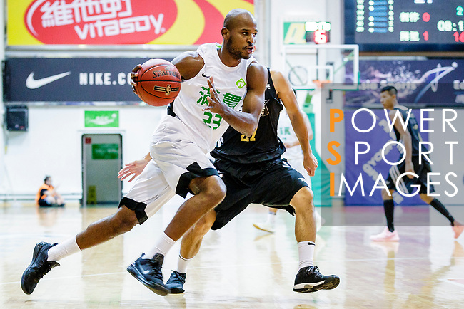 Austin Bryant M #23 of Tycoon Basketball Team in action during the Hong Kong Basketball League game between Tycoon vs Eagle at Southorn Stadium on May 11, 2018 in Hong Kong. Photo by Yu Chun Christopher Wong / Power Sport Images