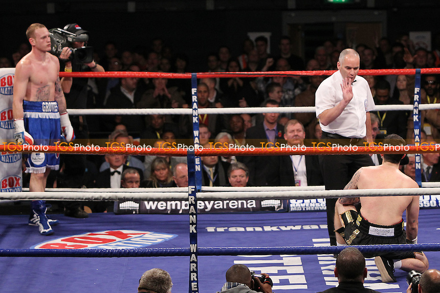 George Groves fights Paul Smith in a boxing contest at Wembley Arena, promoted by Frank Warren - 05/11/11 - MANDATORY CREDIT: Chris Royle/TGSPHOTO - Self billing applies where appropriate - 0845 094 6026 - contact@tgsphoto.co.uk - NO UNPAID USE..