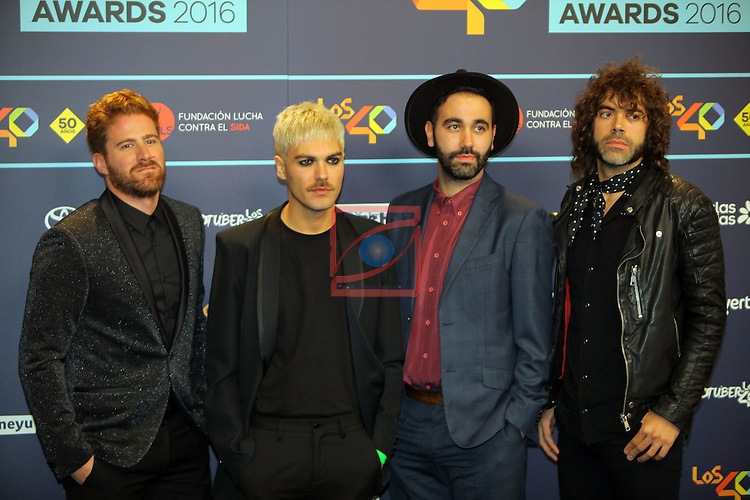 Los 40 MUSIC Awards 2016 - Photocall.<br /> Miss Caffeina.
