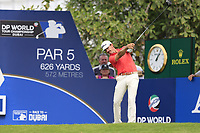 Wade Ormsby (NZL) on the 14th fairway during the 3rd round of the DP World Tour Championship, Jumeirah Golf Estates, Dubai, United Arab Emirates. 17/11/2018<br /> Picture: Golffile | Fran Caffrey<br /> <br /> <br /> All photo usage must carry mandatory copyright credit (&copy; Golffile | Fran Caffrey)