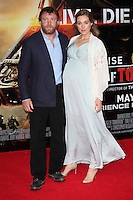 Guy Richie and Jacqui Ainsley arriving at the premiere of 'Edge Of Tomorrow', at the IMAX, London. 28/05/2014 Picture by: Alexandra Glen / Featureflash