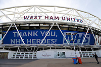 2020 The London Football Stadium Locked down due to Covid 19 May 9th