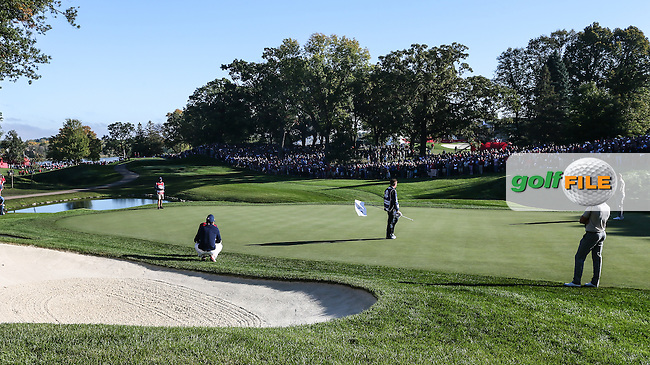View of the 8th during the Saturday Morning Foursomes, at the 41st Ryder Cup 2016, at Hazeltine National Golf Club, Minnesota, USA.  01View of the 10th2016. Picture: David Lloyd | Golffile.