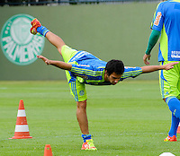 SAO PAULO, SP, 03 DE FEVEREIRO DE 2012. O jogador Valdivia durante treino no Ct da Barra Funda (FOTO: ADRIANO LIMA - NEWS FREE).