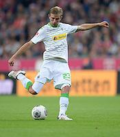 Fussball  1. Bundesliga  Saison 2013/2014   1. SPIELTAG FC Bayern Muenchen - Borussia Moenchengladbach       09.08.2013 Christoph Kramer (Borussia Moenchengladbach) Einzelaktion am Ball