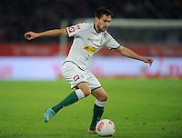FUSSBALL   1. BUNDESLIGA    SAISON 2012/2013    9. Spieltag   Hannover 96 - Borussia Moenchengladbach         28.10.2012 Lukas Rupp (Borussia Moenchengladbach) Einzelaktion am Ball