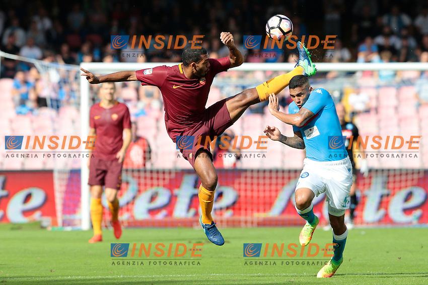 Marques Loureiro Allan Napoli,<br /> Napoli 15-10-2016  Stadio San Paolo <br /> Campionato Serie A Napoli - AS Roma <br /> Foto Cesare Purini / Insidefoto