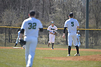 Stevenson club baseball drops the first game in a double header to Johns Hopkins Saturday morning at Bachman Sports Complex in Glen Burnie.