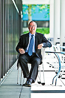 Paul Otellini pictures: Executive portrait photography of CEO Paul Otellini of Intel by San Francisco corporate photographer Eric Millette