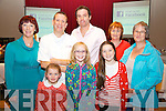 Pictured at Foilmore Community Centre on Friday night last at a cookery demonstration by Chef Mark Doe from Radio Kerrys Just Cooking Program were front l-r; Sarah Kennedy, Saoirse Lyne, Saoirse O'Connor, back l-r; Siobhan Kennedy, Chef Mark Doe, Michael O'Sullivan, Eileen Lyne & Hazel Riordan.