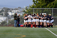 College Girls Rugby - St Mary's College v Feilding High School at Te Whaea Artificial Turf, Wellington, New Zealand onTuesday 26 June 2018.<br /> Photo by Masanori Udagawa. <br /> www.photowellington.photoshelter.com